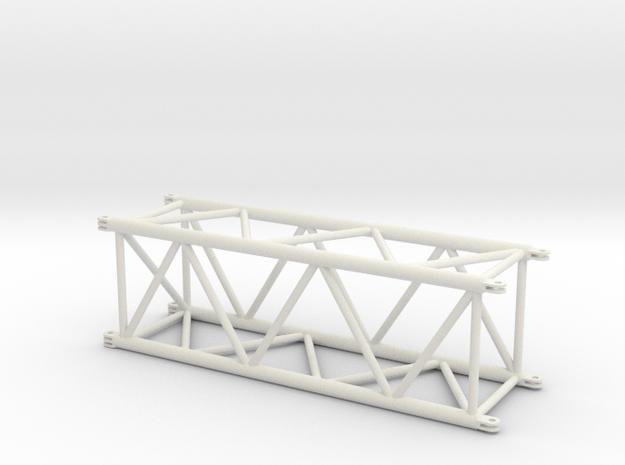 LR13000 S-Mast 12m 1:50 in White Natural Versatile Plastic