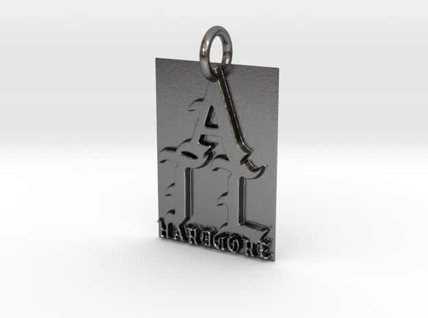 ATL Hardcore Pendant in Polished Nickel Steel