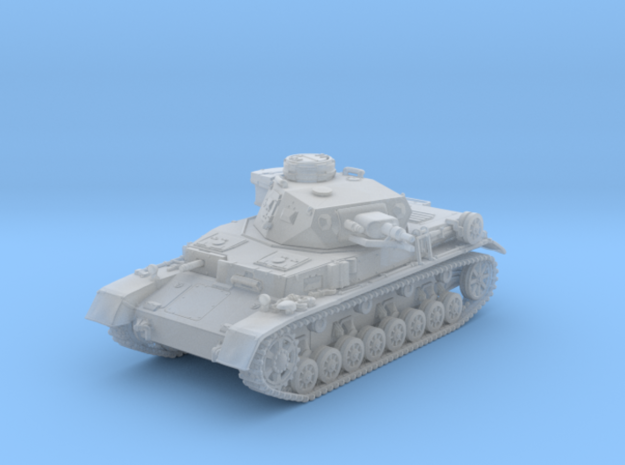 1/160 German Pz.Kpfw. IV Ausf. E Medium Tank in Smooth Fine Detail Plastic