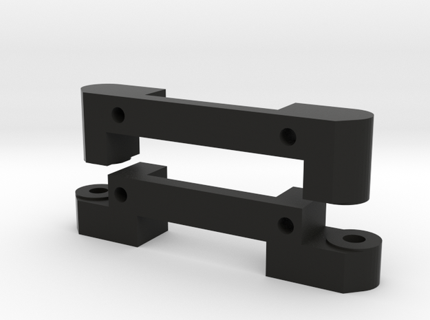 lower arm mounts: long wheelbase in Black Natural Versatile Plastic
