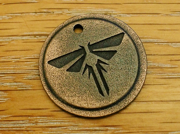 The Last of Us Firefly Pendant