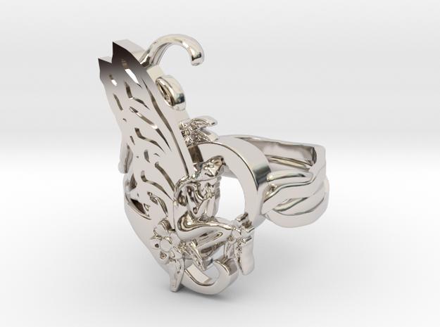 Oddworks ring art nouveau size 11 us