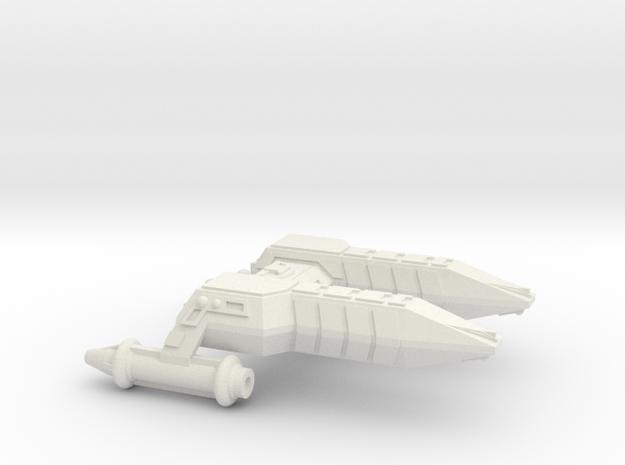 3125 Scale Lyran Cheetah Frigate (FF) CVN in White Strong & Flexible