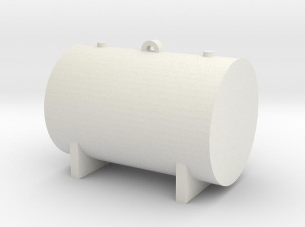 1:48 550 Gallon Fuel Tank in White Natural Versatile Plastic