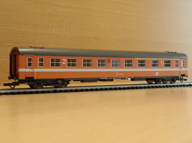 """#12A OBB H0(1:87) """"51 81 39-40 007"""" Wagenkasten in Frosted Ultra Detail"""