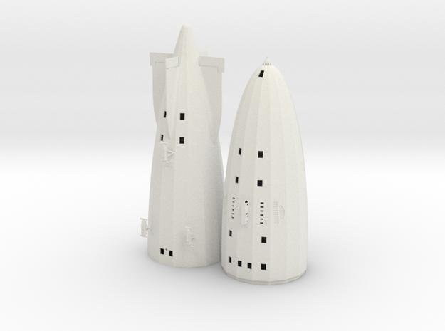 R100 1/600th scale kit in White Natural Versatile Plastic