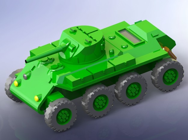 """US T13 """"Trackless Tank"""" Heavy Scout Car 1/144"""