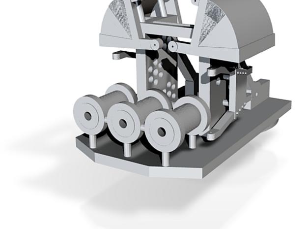 9Mill NZR Steam Crane (3/4) 3d printed