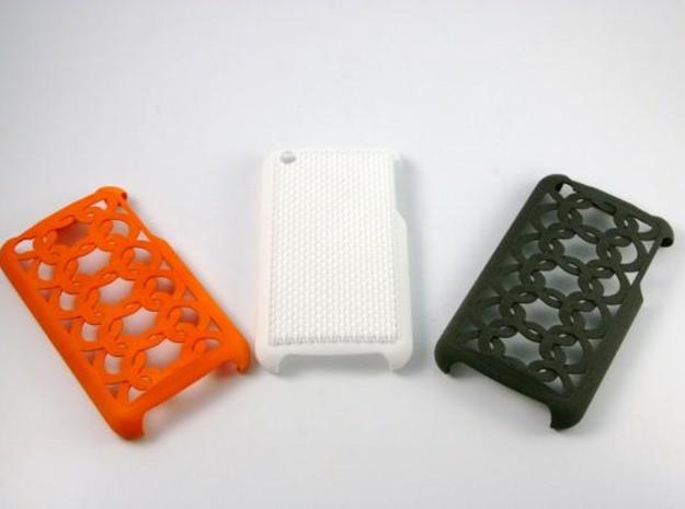 iPhone 3G / 3GS cover  in White Natural Versatile Plastic