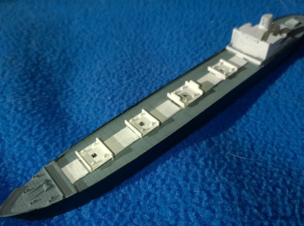 MV Gaasterdijk 1/1250 scale in Smooth Fine Detail Plastic