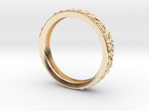 Light ring in 14K Gold