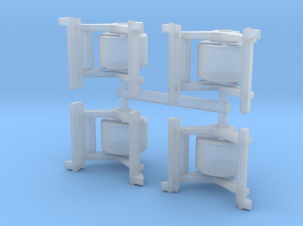1/72 LVT(A)-5 Return Roller Supports in Smoothest Fine Detail Plastic