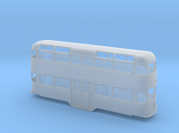 South Shields Streamlined Tram 4mm in Smooth Fine Detail Plastic