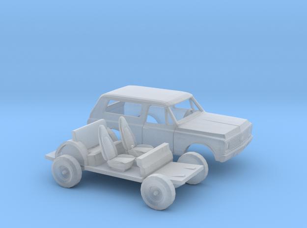 1/87 1972 Chevy Blazer Kit