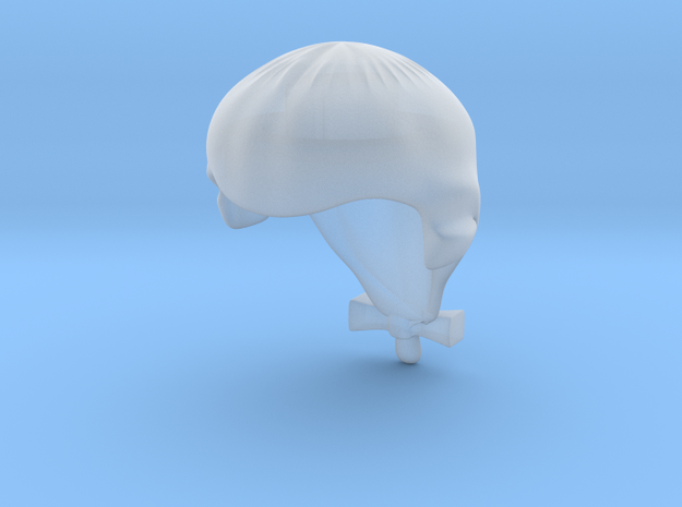 Periwig V2  in Smooth Fine Detail Plastic