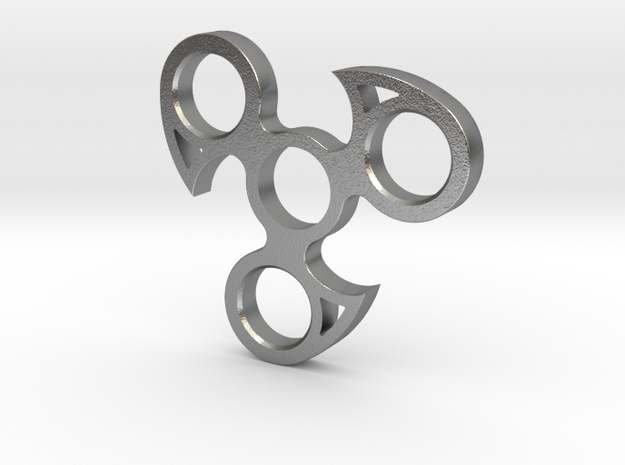 spinner  in Raw Silver