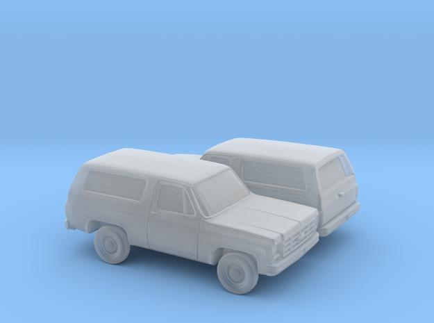 1/160 2X 1973-79 Chevrolet Blazer in Smooth Fine Detail Plastic