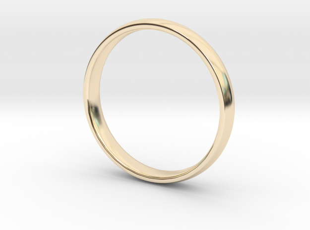 Simple Ring | size 11 in 14K Gold: 11 / 64
