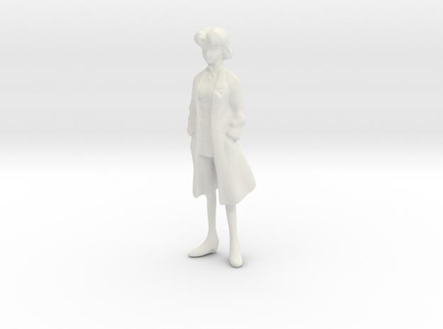 1/24 Woman Scientist in Lab Suit