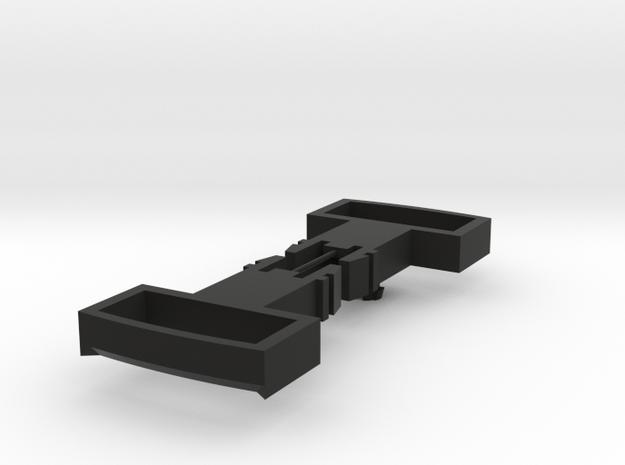 Playmobil Locomotive Coupler Loops in Black Natural Versatile Plastic