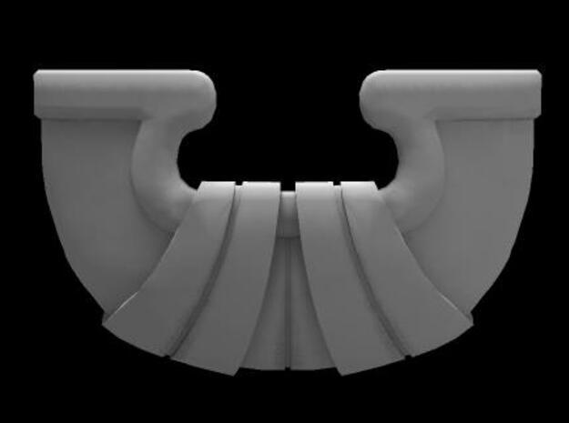 Rekki-Maru Scabbard Tip 3d printed Tip