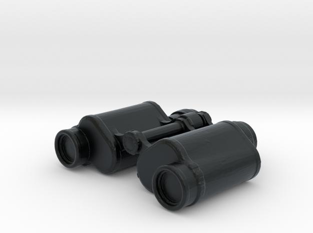 Binoculars - 1/10 in Black Hi-Def Acrylate