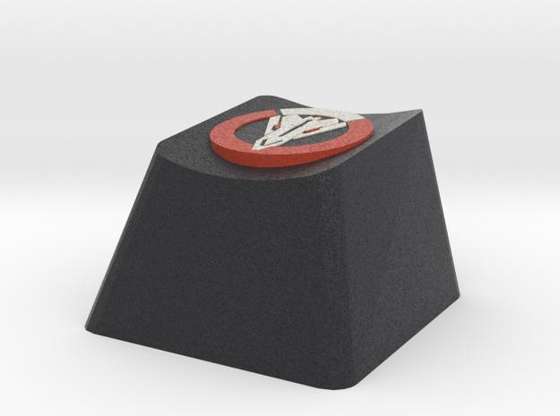 OVerwatch Blackwatch Cherry MX Key in Full Color Sandstone