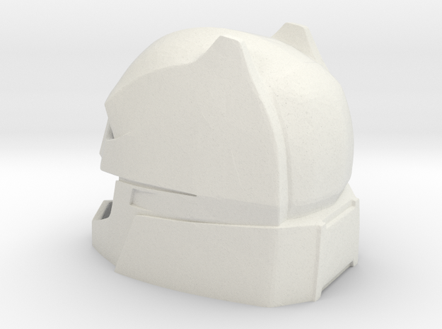 Batman v. Superman Helmet in White Natural Versatile Plastic