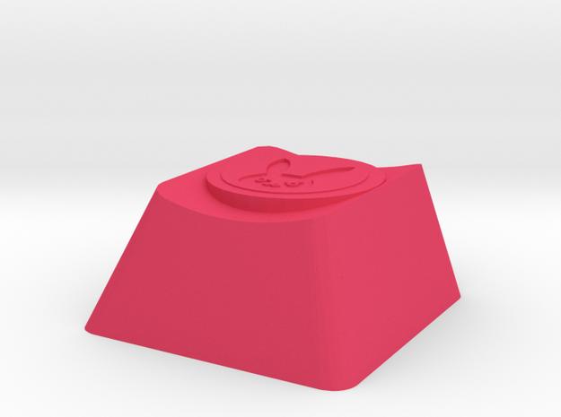 Overwatch DVA Self Destruct Cherry MX Keycap in Pink Processed Versatile Plastic