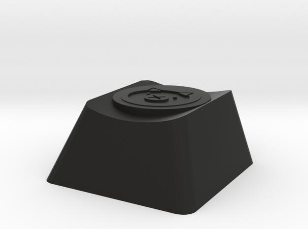 Overwatch Roadhog Whole Hog Cherry MX Keycap in Black Natural Versatile Plastic