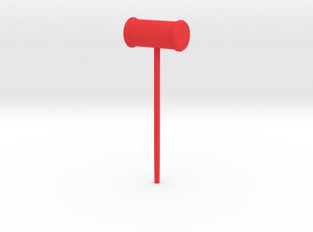 Harley Hammer in Red Processed Versatile Plastic