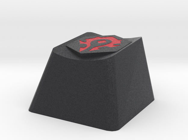 World of Warcraft Horde Cherry MX Keycap in Full Color Sandstone