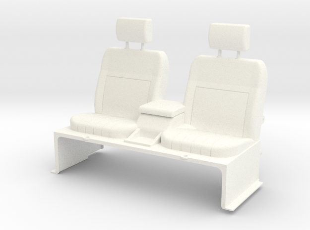 SR510018 SR5 Seats in White Strong & Flexible Polished