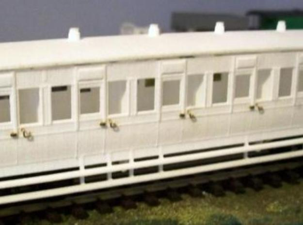 4mm scale LBER All Third or Composite Carriage 3d printed Description