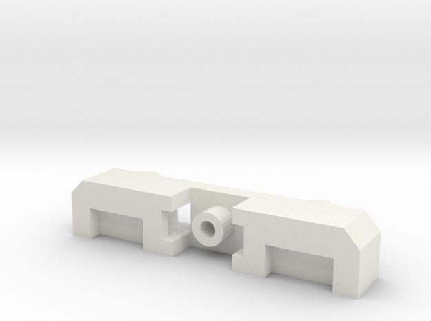 Brake Block Manifold  Bee Plus Extension Lock in White Strong & Flexible