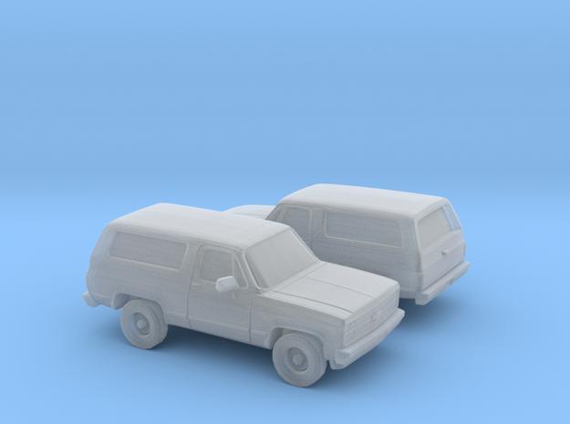 1/160 2X 1989-91 Chevrolet Blazer in Smooth Fine Detail Plastic