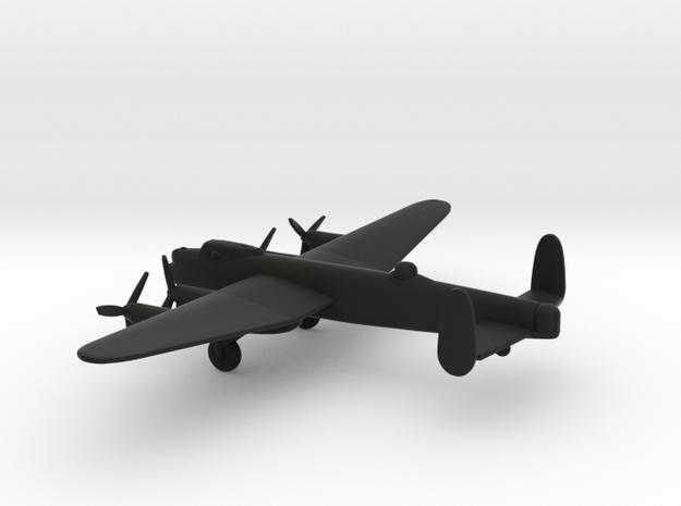 Avro Lancaster B.III in Black Natural Versatile Plastic: 1:350