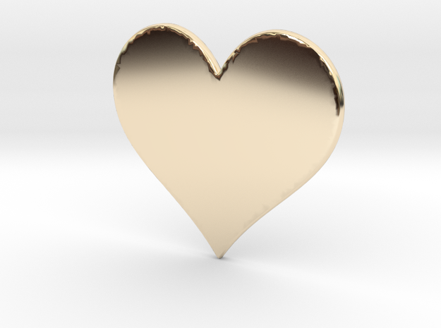 My SWEET HEART in 14K Gold: Extra Small