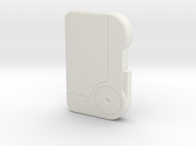 Fallout HoloTape in White Natural Versatile Plastic