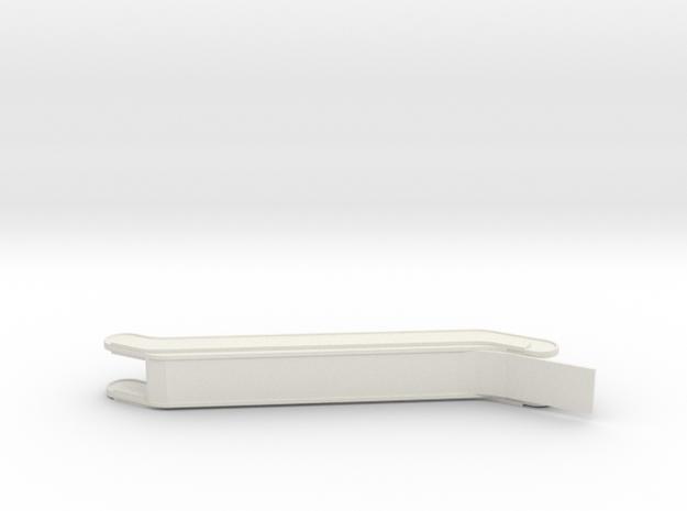 HO Escalator H48mm in White Natural Versatile Plastic
