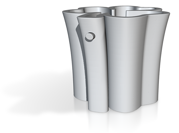 Shamrock Shot Glass! 3d printed