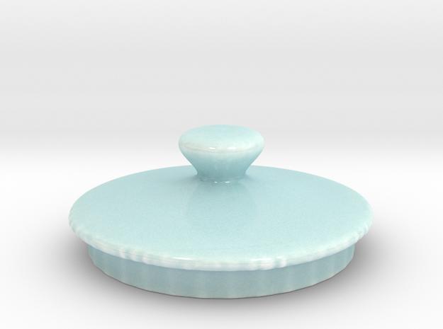20160927CeramicLidRingOnly12 in Gloss Celadon Green Porcelain