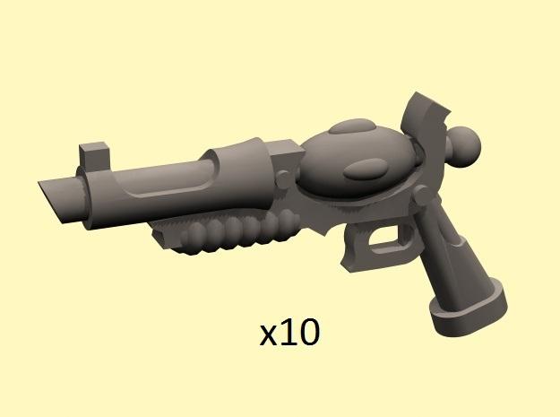 28mm Space Elf stub pistol