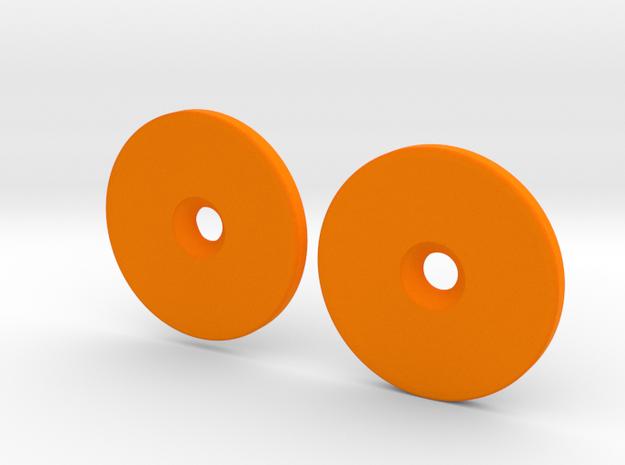 Spinner Caps (SD-M1) in Orange Processed Versatile Plastic