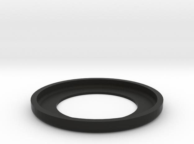 Low Profile headset spacer 2mm deep 4.2mm stack in Black Natural Versatile Plastic