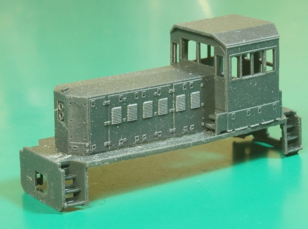 TP56 Locomotive Sill (N/HO) in Smoothest Fine Detail Plastic: 1:160 - N