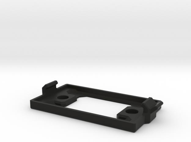 OctaMount Battery Tray in Black Natural Versatile Plastic: Small