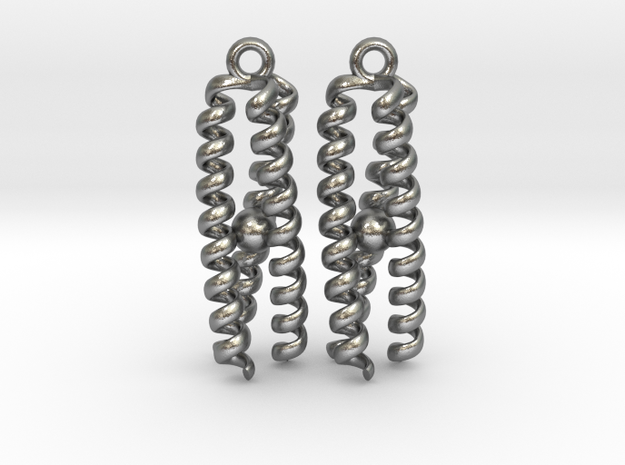 Metal-bound trimeric coiled coil in Natural Silver