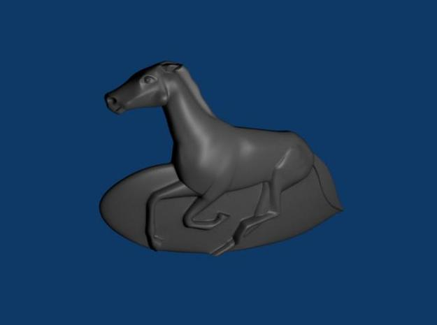 horse 3d printed Description