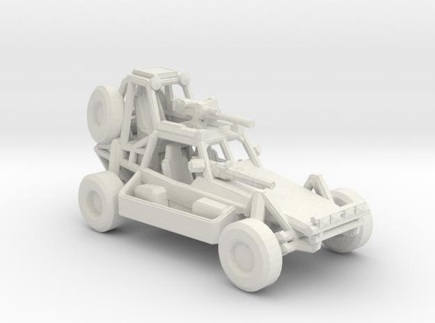 Desert Patrol Vehicle v2 1:220 scale in White Strong & Flexible